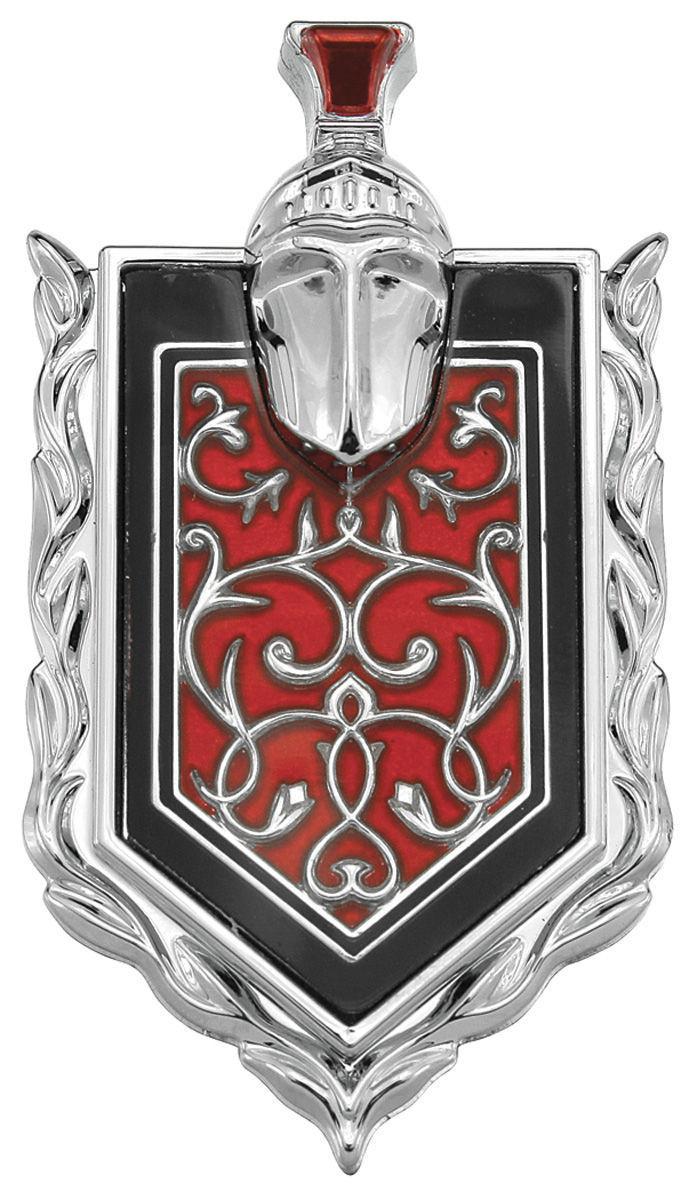 Monte Carlo Sail Panel Quarter Glass Crest Emblem
