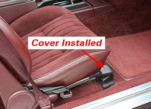 Bucket Seat Upper Track Covers (Free Shipping)