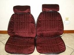 Premium PUI Front Seat Upholstery -Choose your color