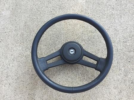 Blue Steering Wheel (Used)