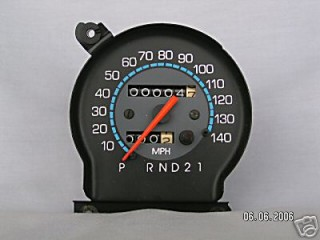 1986 -88 Speedometer, 140 mph, with trip odometer (Refurbished)