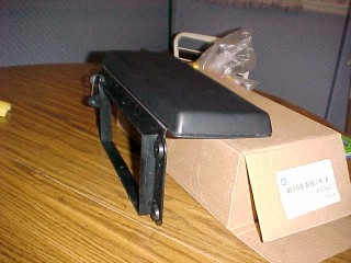 GM NOS Black Console Lid with Hinge