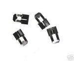 Door Rod Clips - Set of 4 (Free Shipping)