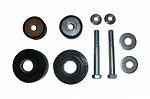 Radiator Core Support Reproduction Bushings Cushions (2) Kit (Free Shipping)
