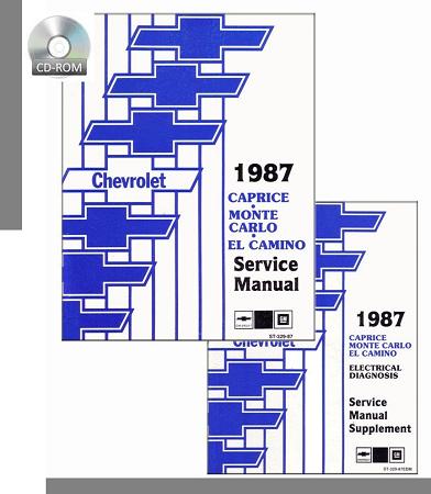 1987 shop manual cd rh mikesmontes com 1984 Monte Carlo 1979 Monte Carlo