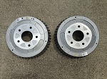 Reproduction of the GM Aluminum Brake Drums Set (2) - 10-Bolt