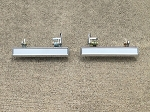 Outer Door Handles, Chrome - Set (Free Shipping)
