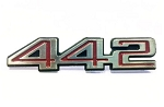 Oldsmobile 442 New Upper Door Panel Emblem (Free Shipping)
