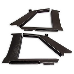 Malibu Landau Rear Upper Quarter Panel Interior Trim Set