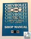 1985 Monte Carlo Shop Manual CD