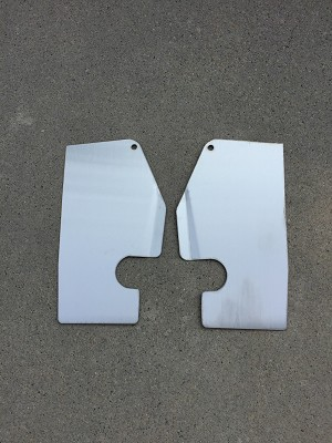 Stainless Steel Headlight Opening Filler Panel Set (Free Shipping)