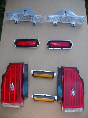 Complete 8pc Light Set 81-86 Monte Carlo (Free Shipping)