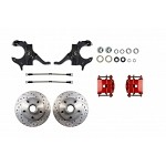 "2"" Drop Spindle Disc Brake Wheel Kit 79-87 G - Body"