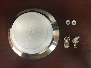 Interior Dome Light with Clips
