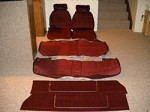 Premium PUI Seat Upholstery w/Upper Door Panels - Choose your color (COPY)
