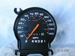 1981 - 1985 Speedometer, 140 mph (Refurbished)