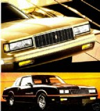 1988 Monte Carlo Dealer Brochure (Free Shipping)