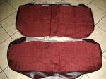 Premium PUI Rear Seat Upholstery -Choose your color