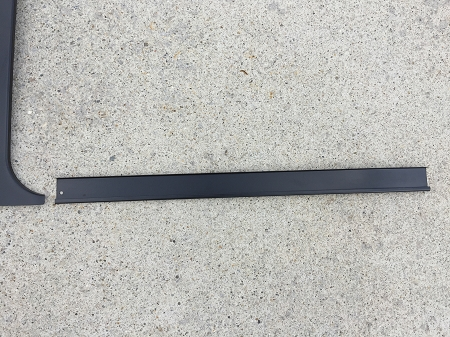 1978-1988 G-Body T-Top Center Rail Stainless Steel with Black Painted