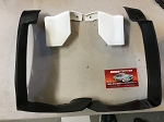 78-87 New El Camino Malibu Front and Rear Plastic Body Bumper Fillers Set