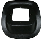 4 SPEED PLASTIC SHIFTER COVERS 78-87, Black