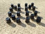 Lug Nuts Set of 20 - Black (Free Shipping)