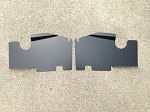83-88 Monte Carlo SS Top Plate Extensions Non Bead Rolled Black
