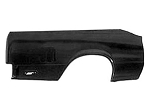 El Camino Right Rear Quarter Panel, Black
