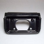 78-83 Malibu Tag License Plate Pocket Black