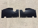 83-88 Monte Carlo SS Top Plate Extensions Bead Rolled Black